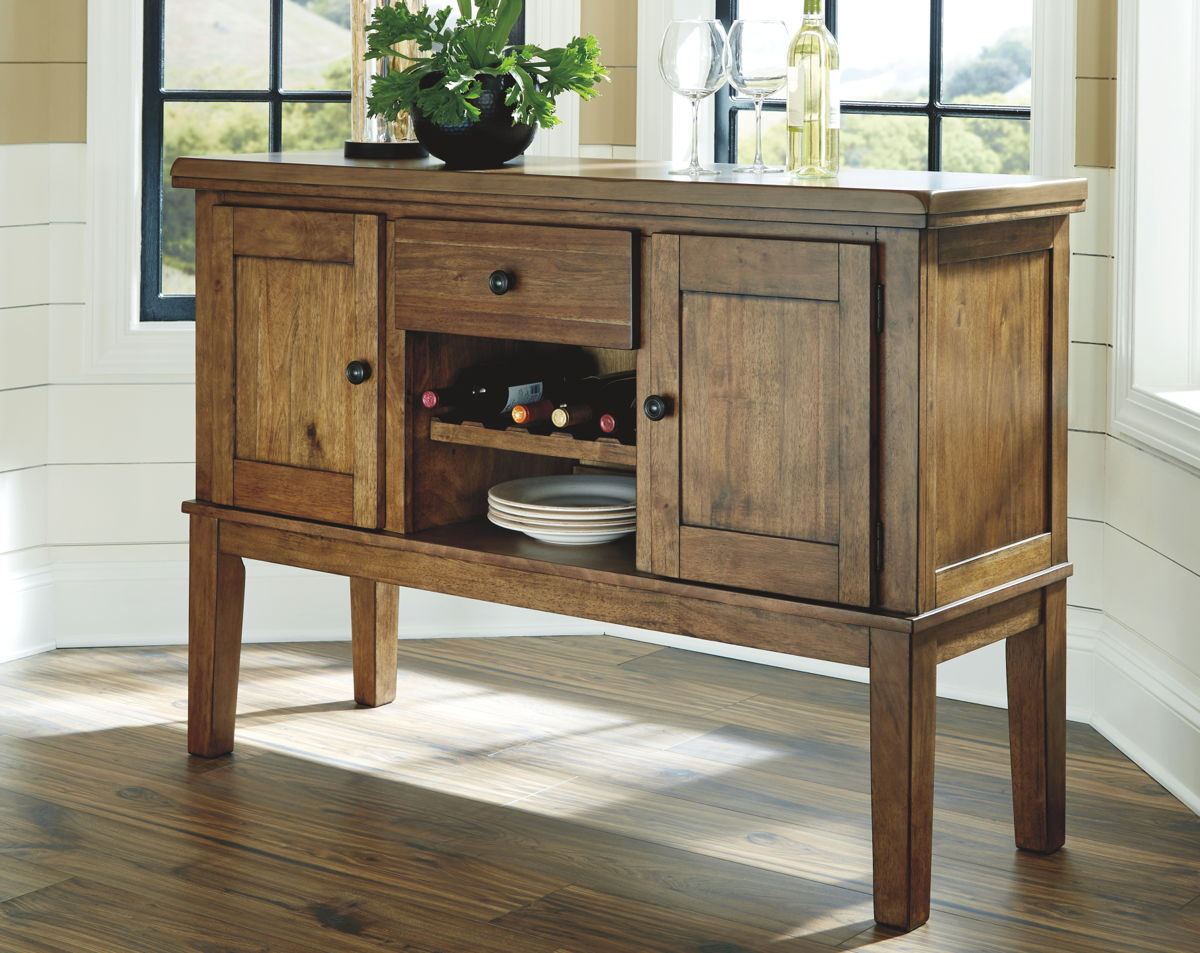 Flaybern Dining Room Server | Calgary's Furniture Store