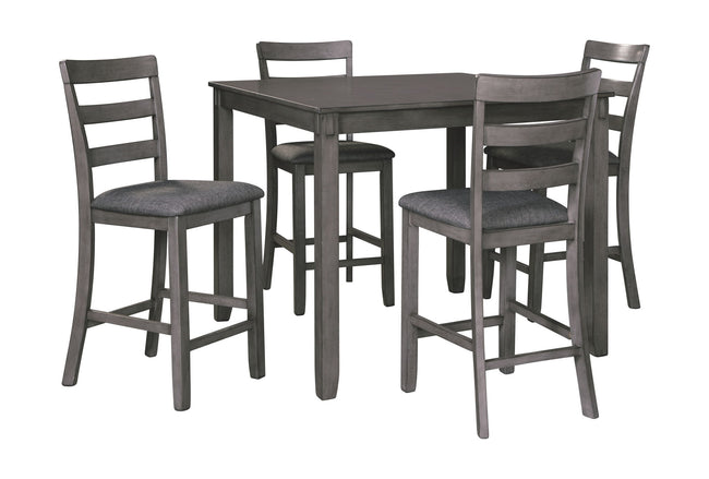 Bridson Counter Height Dining Room Table and Bar Stools (Set of 5) | Calgary's Furniture Store