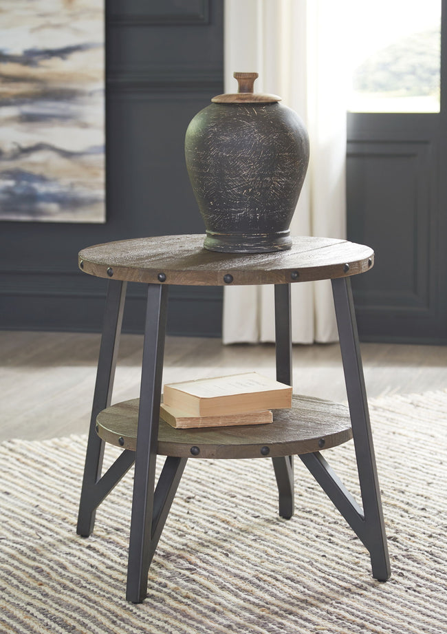 Haffenburg End Table | Calgary's Furniture Store