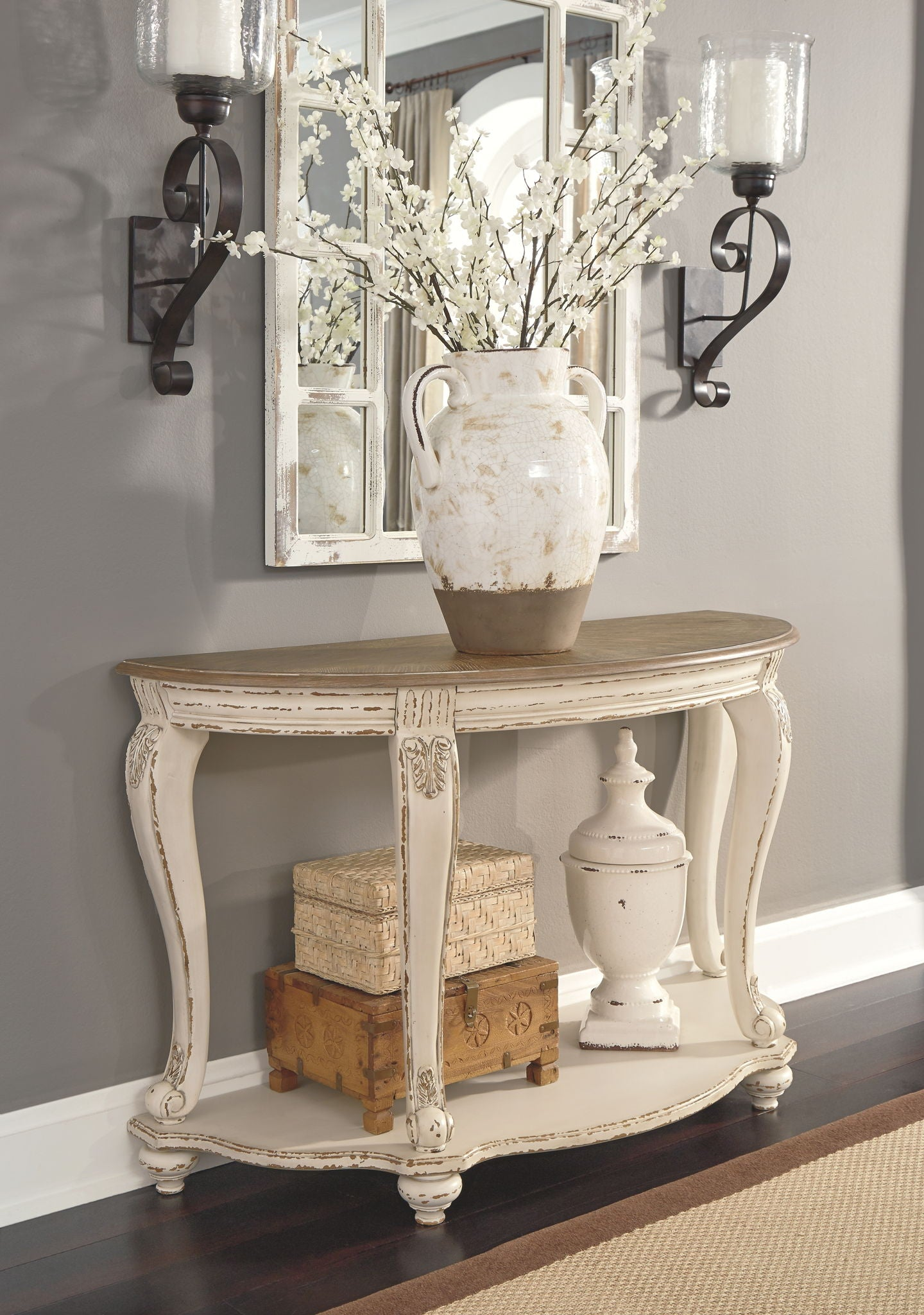 Realyn Sofa Table | Calgary's Furniture Store