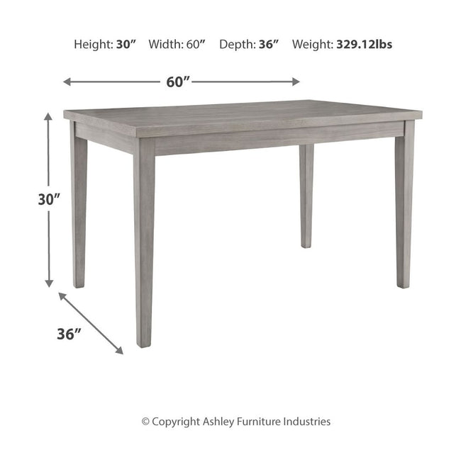 Parellen Dining Room Table | Calgary's Furniture Store