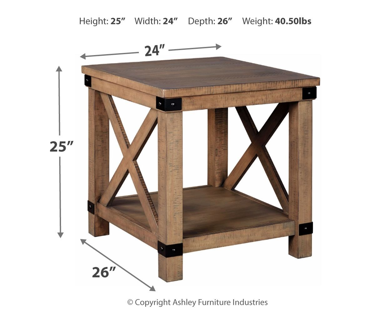 Aldwin End Table | Calgary's Furniture Store