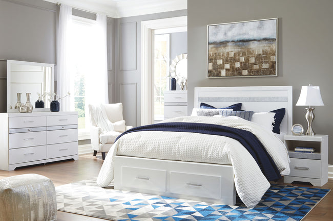 Jallory Storage Panel Bed