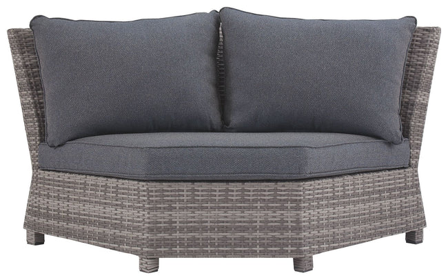 Salem Beach Corner Chair with Cushion | Calgary's Furniture Store