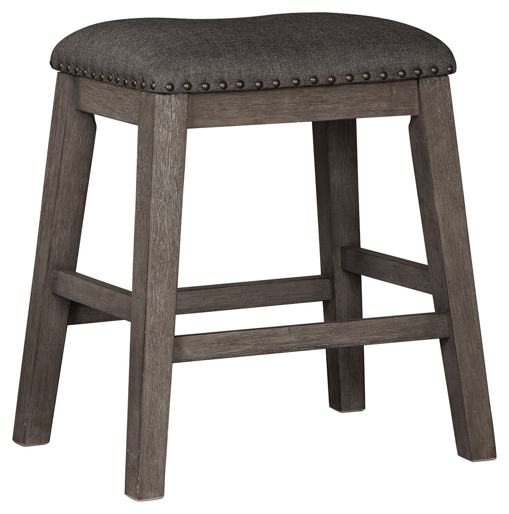 Caitbrook Counter Height Upholstered Bar Stool | Calgary's Furniture Store