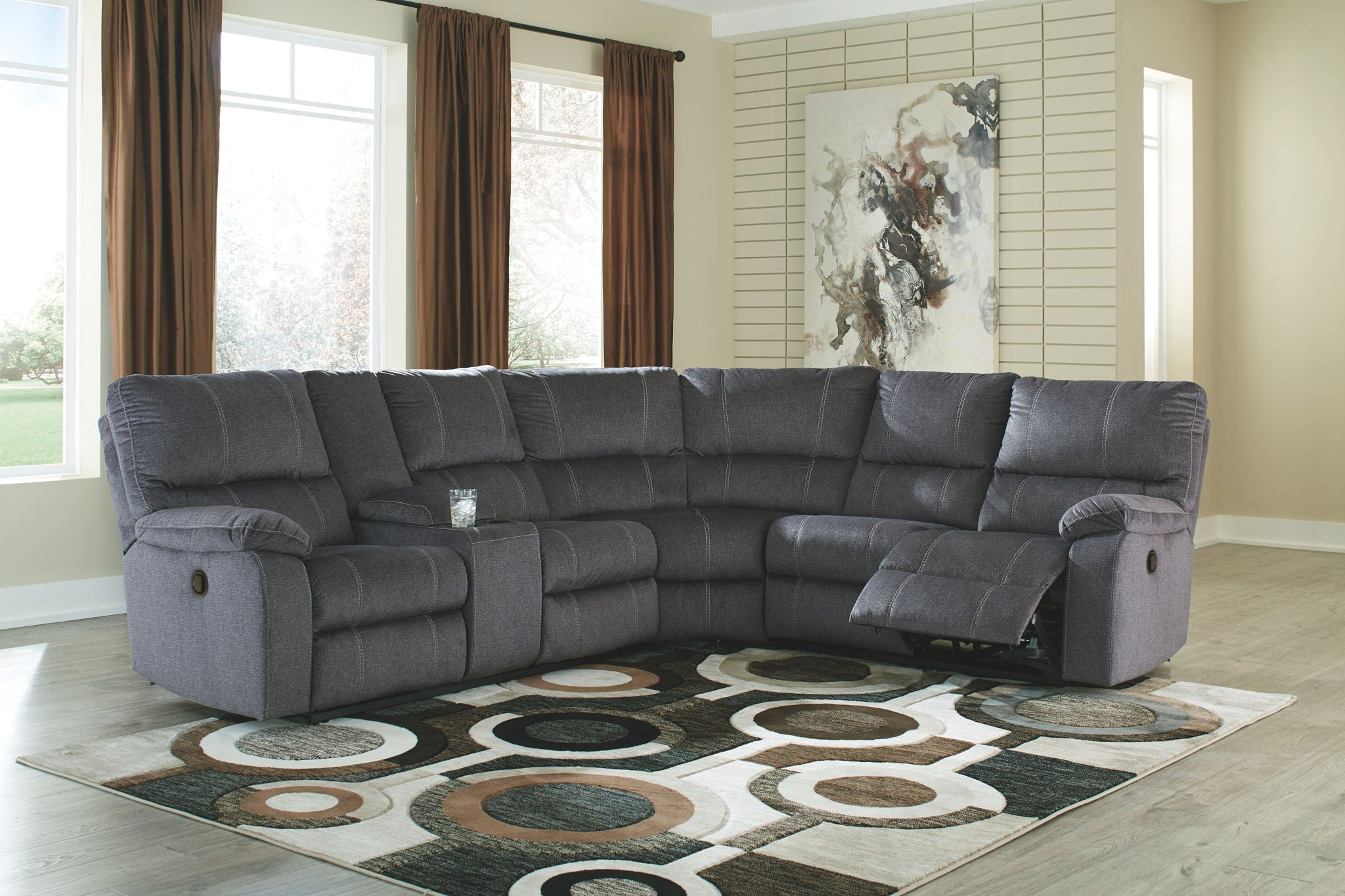 Urbino Reclining Sectional | Calgary's Furniture Store