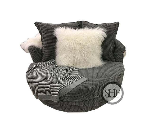 Lennox Mini Cuddle Nest Chair, Made in Canada 🇨🇦 | Calgary's Furniture Store