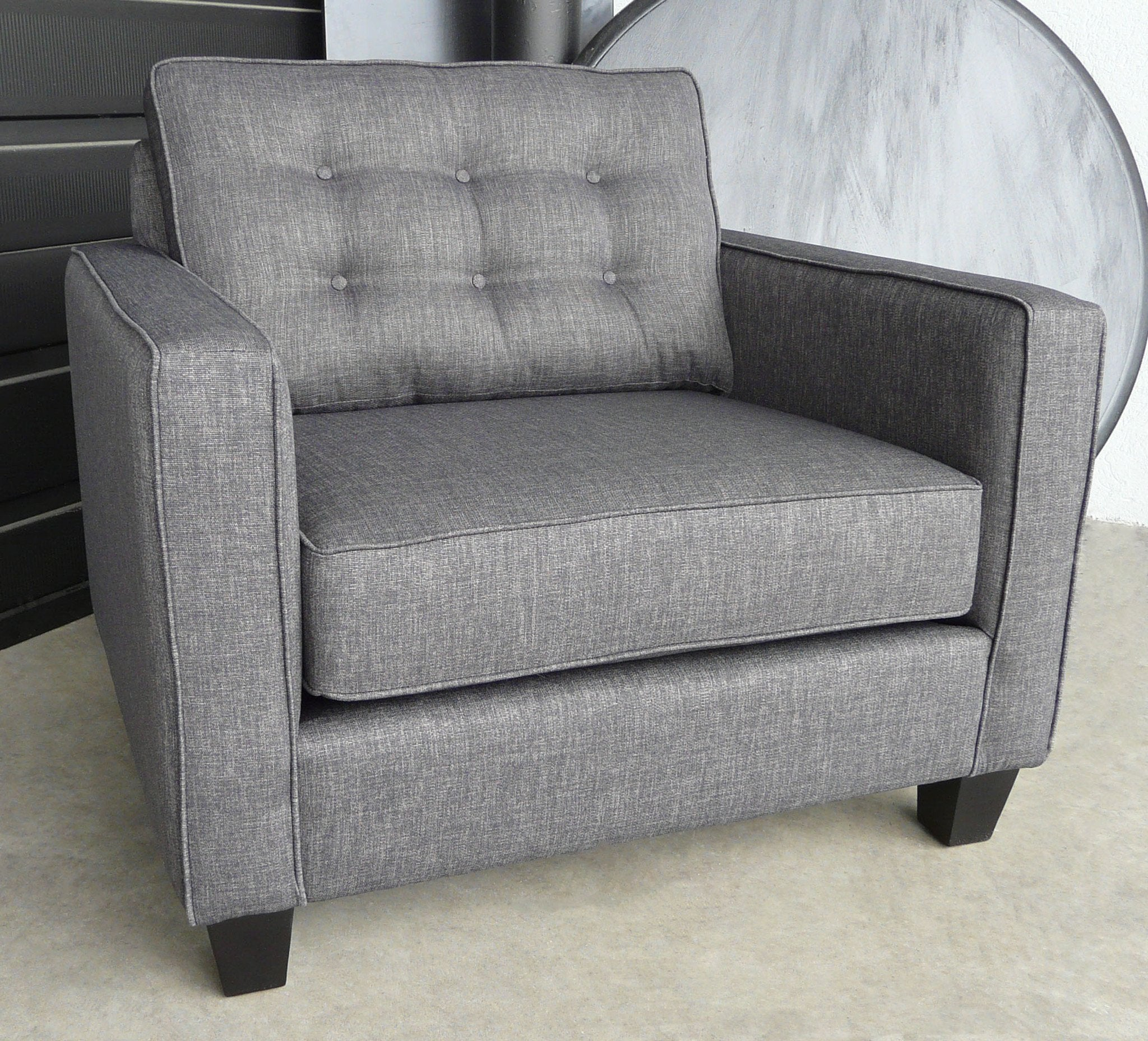 Lincoln Chair & Half Chairs Showhome Furniture