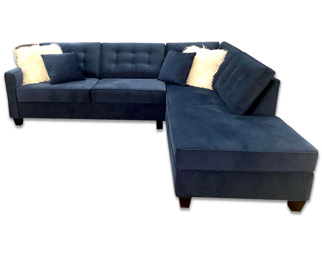 Lincoln Custom Sectional w/ Corner Chaise, Made in Canada 🇨🇦 | Calgary's Furniture Store