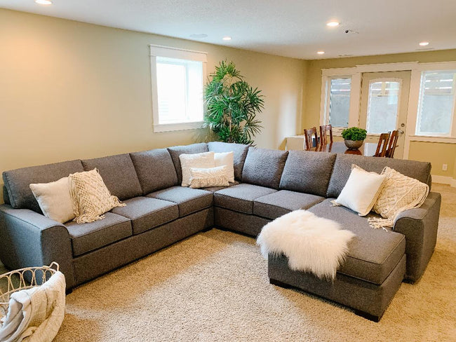 Moberly Custom Sectional, Made in Canada 🇨🇦 | Calgary's Furniture Store