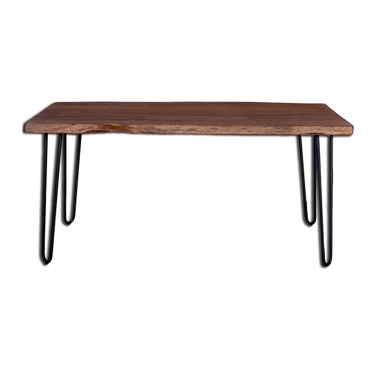 Solid Acacia Wood Organic Dining Table