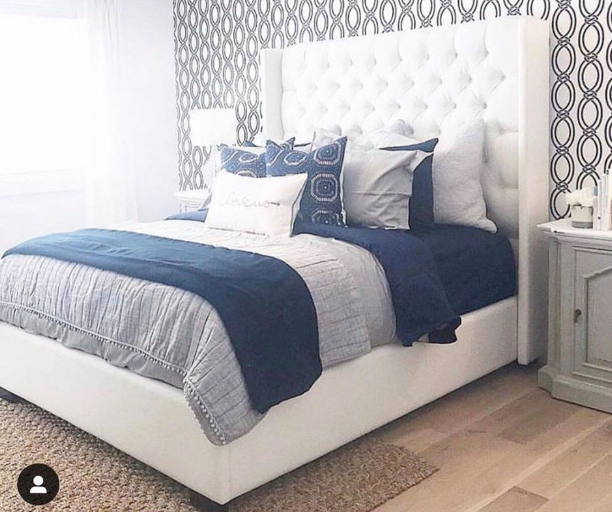 Luxurious Tufted Bed Made In Canada Showhome Furniture Calgary S Furniture Store