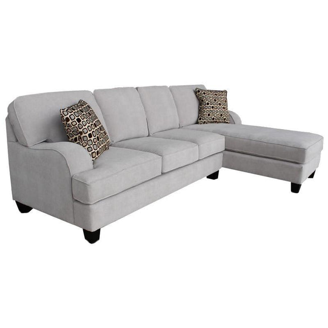 Philly 2 Piece Sofa Chaise Sectional, Made in Canada 🇨🇦 | Calgary's Furniture Store