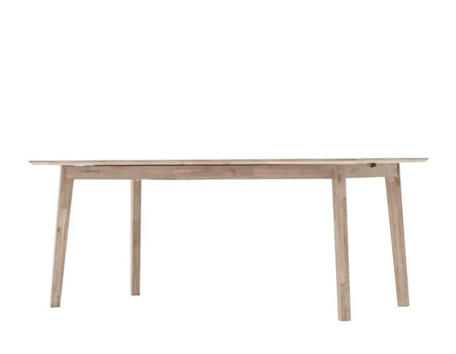 Ruth Modern Solid Wood Extension Dining Table