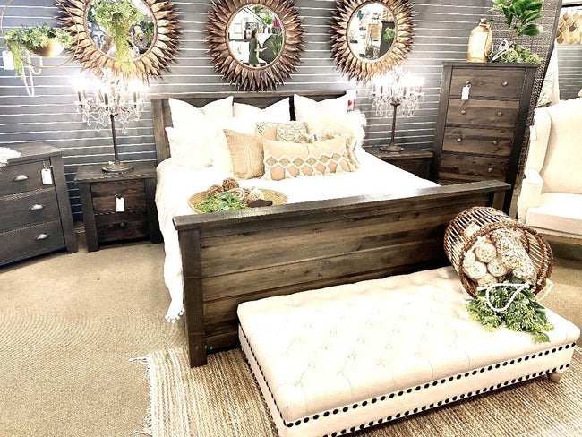 Rough Sawn Bed, Made in Canada 🇨🇦 | Calgary's Furniture Store