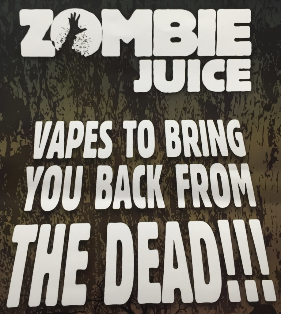 Zombie Juice e-liquid Now in Stock - Free UK Delivery