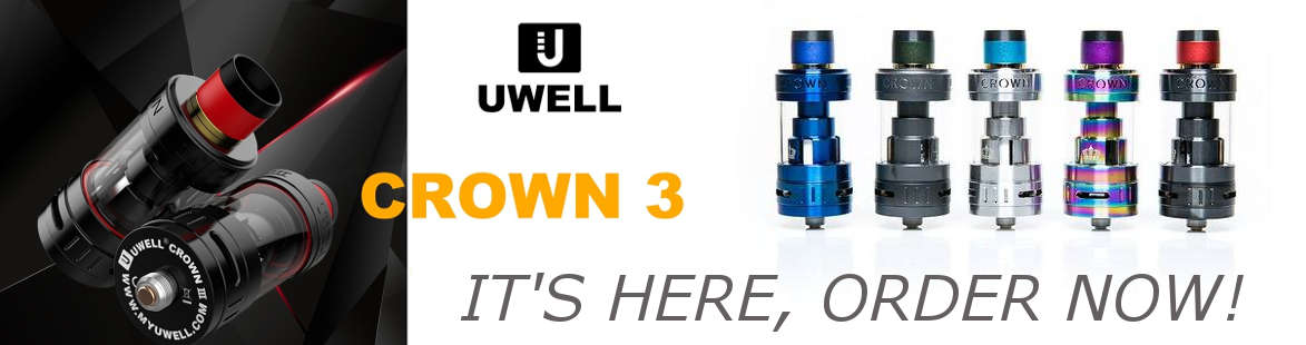 Uwell Crown 3 Tank - UK Cheapest