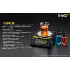 Nitecore NFF01 Magnetic eLiquid Mixer