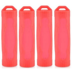 Protective Silicone Battery  Cover / Case for 18650 Batteries - Multiple Colours & Pack Sizes