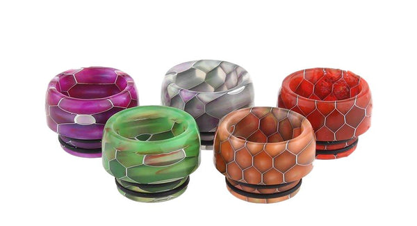 Snakeskin Style 810 Drip Tip - Various Colours - TFV8/Big Baby/810