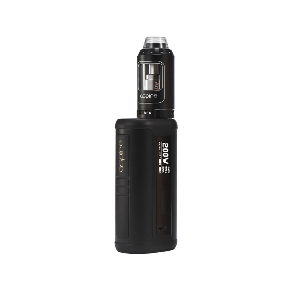 Aspire Speeder 200W Starter Kit-kits-Aspire-Black-Voodoo Vape