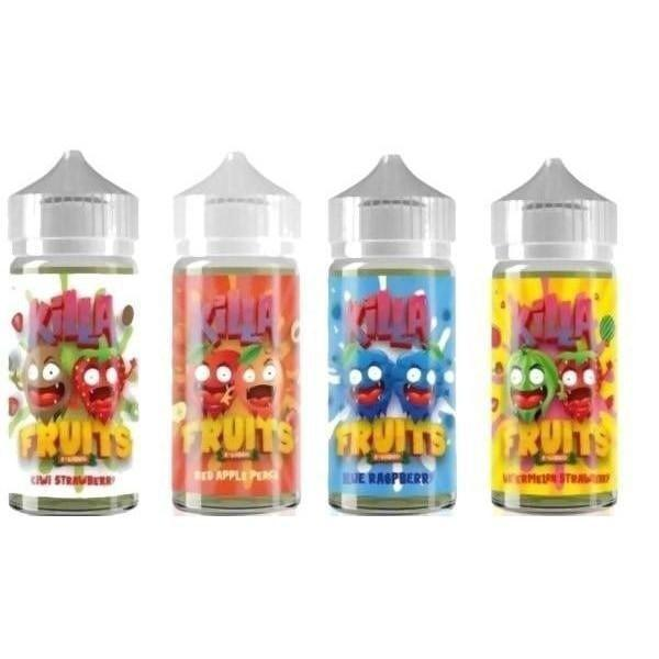 Killa Fruits 0mg 100ml Shortfill (70VG/30PG)-E-Liquid-Killa Fruits-Watermelon Strawberry-Voodoo Vape