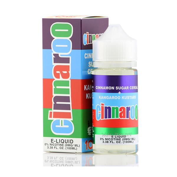 Cinnaroo by Cloud Thieves 100ml Shortfill 0mg (70VG-30PG)-E-Liquid-Cloud Thieves-Voodoo Vape