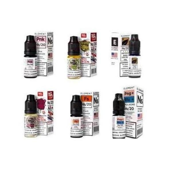 10MG Element Designer 10ML Flavoured Nic Salts-E-Liquid-Element-Chocolate Tobacco-Voodoo Vape