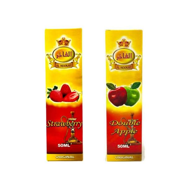 Al Hookah 0mg 50ml Shortfill (60VG/40PG)-E-Liquid-Al Hookah-Double Apple-Voodoo Vape