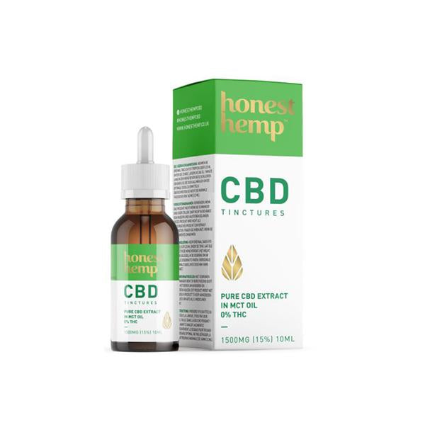 Honest Hemp 1500mg 10ml Pure CBD Extract in MCT Oil-CBD Products-Honest Hemp-Voodoo Vape