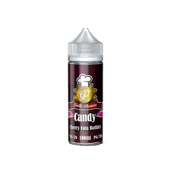 Guilty Pleasures Candy 0mg 100ml Shortfill (70VG/30PG)-E-Liquid-Guilty Pleasures-Cherry Cola Bottles-Voodoo Vape