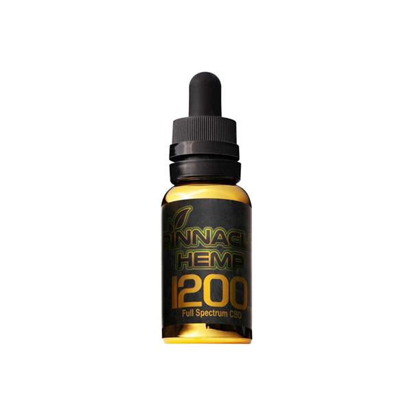 Pinnacle Hemp Full Spectrum Oil 1200mg CBD 30ml-CBD Products-Pinnacle-Voodoo Vape
