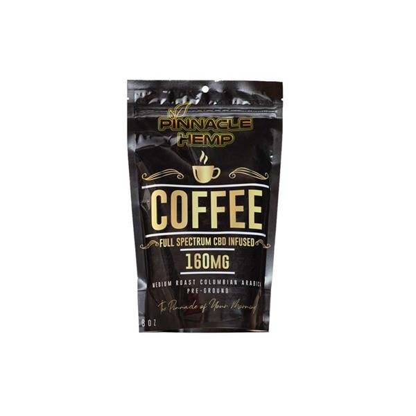 Pinnacle CBD Ground Coffee 160mg – 8oz
