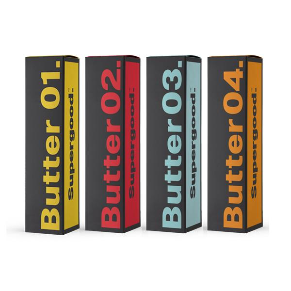 Supergood Butter Collection 0mg 50ml Shortfill (70VG/30PG)-E-Liquid-Supergood-Butter 01-Voodoo Vape
