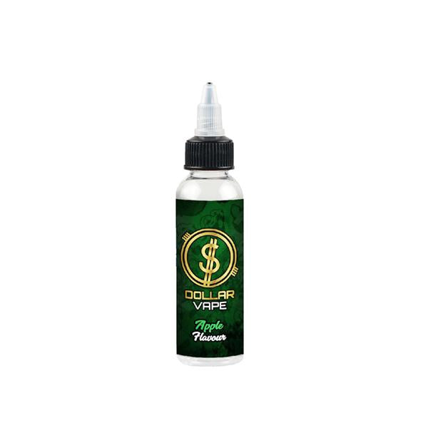 Dollar Vape 0mg 50ml Shortfill (70VG/30PG)-E-Liquid-Dollar Vape-Apple-Voodoo Vape