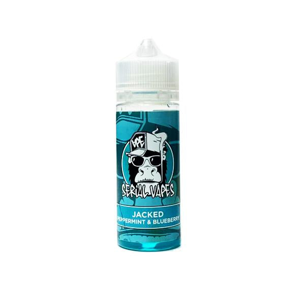 Serial Vapes 0mg 100ml Shortfill (80VG/20PG)-E-Liquid-Serial Vapes-Jacked-Voodoo Vape