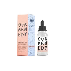 Our Remedy 500mg Natural CBD Oil 10ml-CBD Products-Our Remedy-With pipette dropper-Voodoo Vape