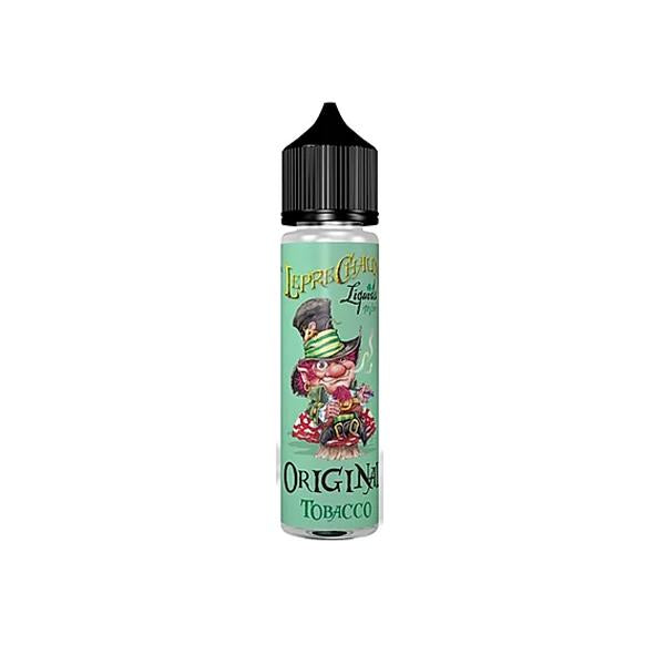 Leprechaun Original 60ml (40ml Shortfill + 2 x 10ml Nic Shots) (70VG/30PG)-E-Liquid-Leprechaun-Tobacco-Voodoo Vape
