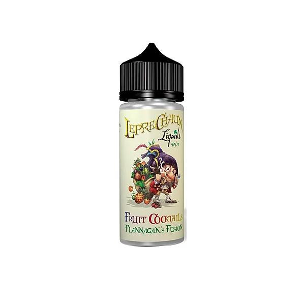 Leprechaun Fruit Cocktail 120ml (80ml Shortfill + 4 x 10ml Nic Shots) (70VG/30PG)-E-Liquid-Leprechaun Liquids-Flannagan's Fusion-Voodoo Vape