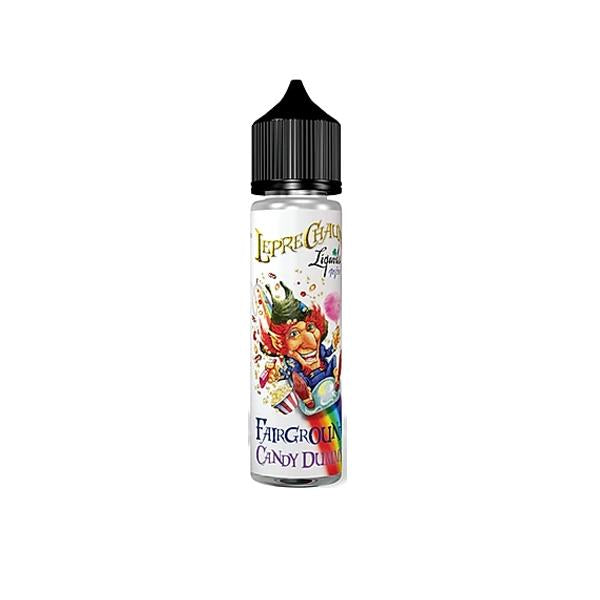 Leprechaun Fairground 60ml (40ml Shortfill + 2 x 10ml Nic Shots) (70VG/30PG)-E-Liquid-Leprechaun Liquids-Candy Floss-Voodoo Vape