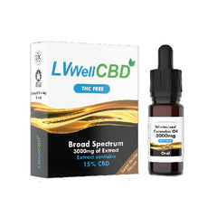 LVWell CBD 3000mg Winterised 10ml Hemp Seed Oil-CBD Products-LVWell CBD-Voodoo Vape