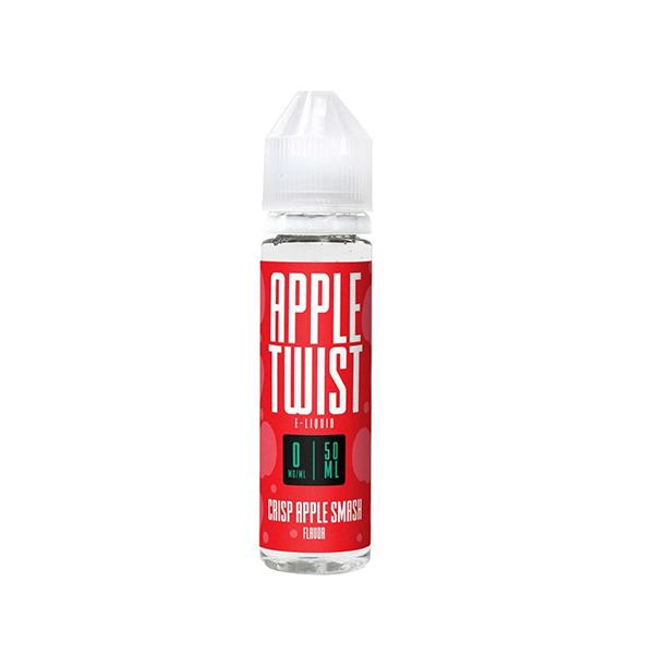 Apple Twist 0mg 50ml Shortfill E-Liquid (70VG-30PG)-E-Liquid-Apple Twist-Voodoo Vape
