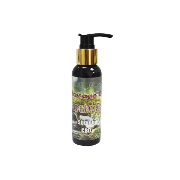 Doctor Green's 500mg CBD Massage Oil 100ml - Recover-CBD Products-Doctor Green's-Voodoo Vape