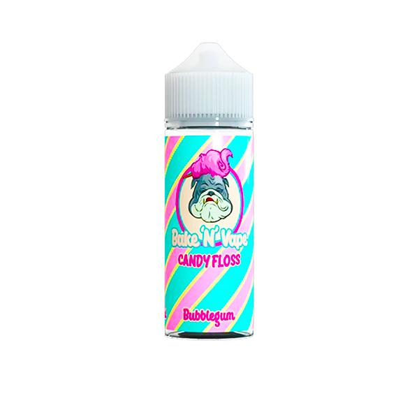 Bake 'N' Vape Candy Floss Shortfill 100ml (70VG/30PG)