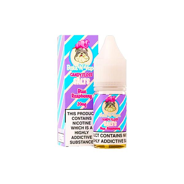 20mg Bake 'N' Vape Candy Floss Nic Salt 100ml (50VG/50PG)-Vaping Products-Voodoo Vape