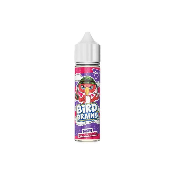 Bird Brains 0mg 50ml Shortfill (70VG/30PG)-E-Liquid-Bird Brains-Grape Strawberry-Voodoo Vape