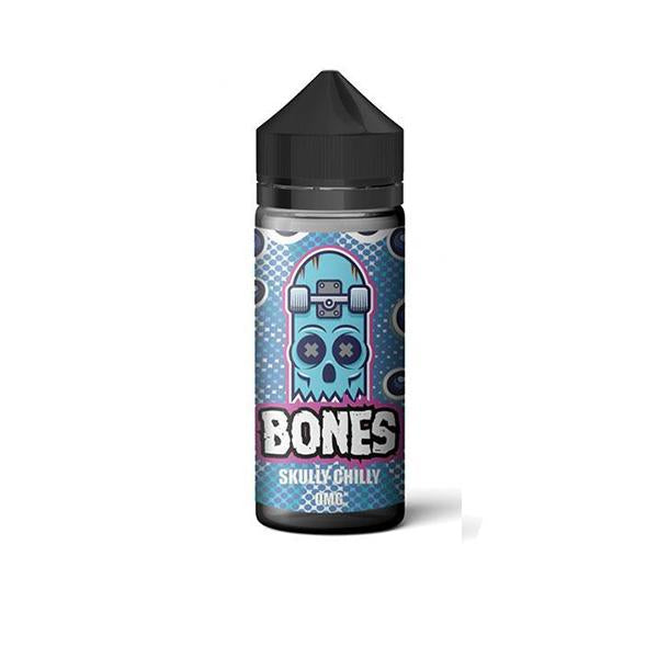 Bones By Wick Liquor 0mg 100ml Shortfill (70VG/30PG)-E-Liquid-Wick Liquor-Skully Chilly-Voodoo Vape