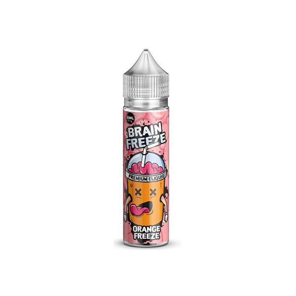 Brain Freeze 0mg 50ml Shortfill (70VG/30PG)-E-Liquid-Brain Freeze-Orange Freeze-Voodoo Vape