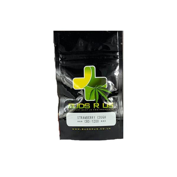 Strawberry Cough CBD Flower Tea (12% CBD)-CBD Products-Buds R Us-1 x 1g-Voodoo Vape