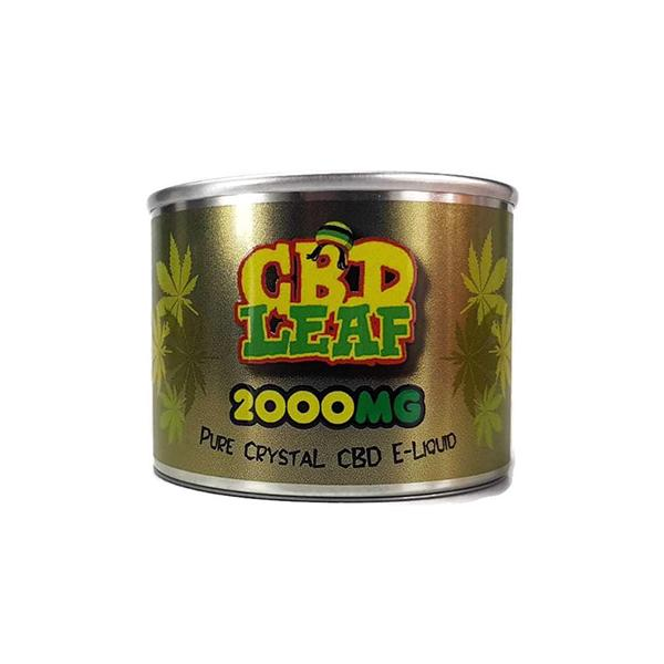 CBD Leaf Additives 2000mg 10ml-CBD Products-CBD Leaf-Voodoo Vape